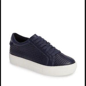 J/SLIDES Audrina Perforated Platform Sneakers